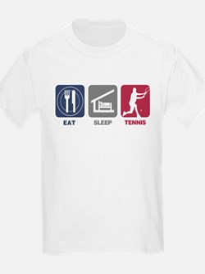 Eat Sleep Tennis - Man 2 T-Shirt