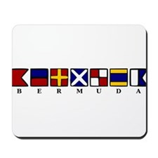 Nautical Bermuda Mousepad