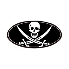 Calico Jack's Pirate Flag Patches