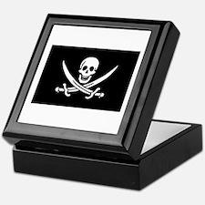 Calico Jack's Pirate Flag Keepsake Box