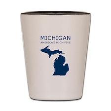 Cool Michigan Shot Glass