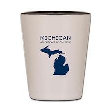 Unique Michigan Shot Glass