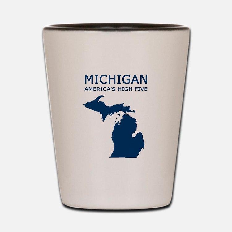 Cute Michigan Shot Glass