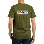 Bitcoins-7 Organic Men's T-Shirt (dark)