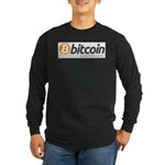 Bitcoins-7 Long Sleeve Dark T-Shirt