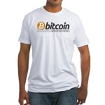 Bitcoins-7 Fitted T-Shirt