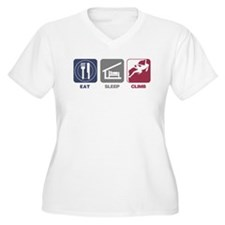 Eat Sleep Climb - Woman T-Shirt