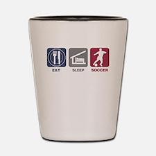 Eat Sleep Soccer - Men's 2 Shot Glass