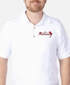 Due In February Golf Shirt