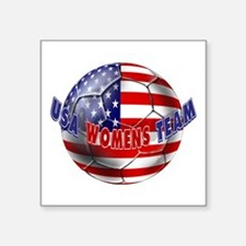 Us Womens Soccer Sticker