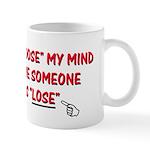 Loose vs Lose Mug