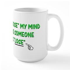 Loose vs Lose Large Mug