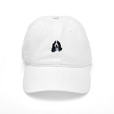 English Springer Spaniel Head Baseball Cap