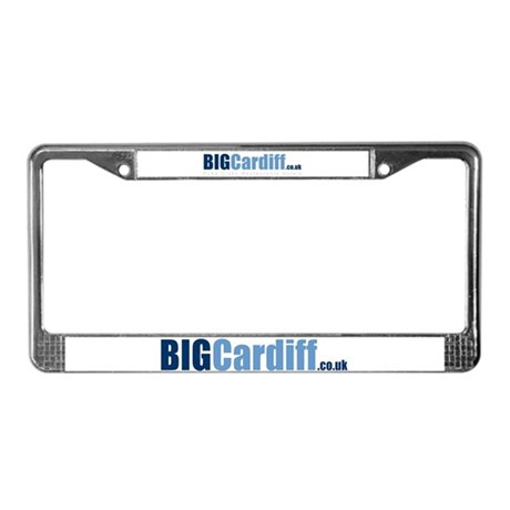 BIGCardiff.co.uk License Plate Frame