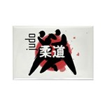 Judo Rectangle Magnet (100 pack)