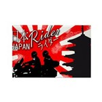 Rider Rectangle Magnet (10 pack)