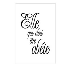 She who must be obeyed (Frenc Postcards (Package o