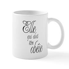 She who must be obeyed (Frenc Mug