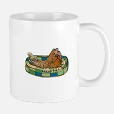 Shih Tzu in Dog Bed Mug