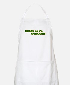 South African Rugby Afrikaans BBQ Apron