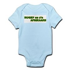 South African Rugby Afrikaans Infant Creeper