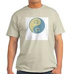 Yin Yang TV Ash Grey T-Shirt