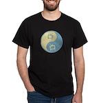Yin Yang TV Black T-Shirt