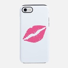 Pink Lips Kiss iPhone 7 Tough Case