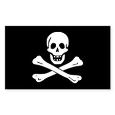 Edward England's Pirate Flag Bumper Stickers