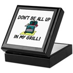 All Up In My Grill Keepsake Box