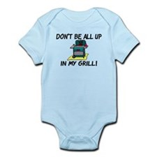 All Up In My Grill Infant Bodysuit