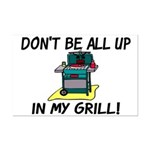 All Up In My Grill Mini Poster Print