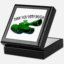 Tank You Very Much Keepsake Box