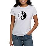 Yin Yang Penguins Women's T-Shirt