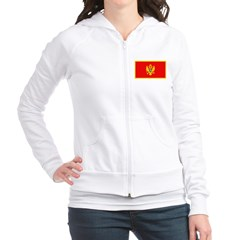 Montenegro Montenegrin Blank Fitted Hoodie