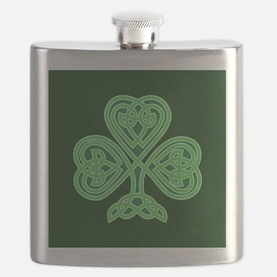 Celtic Shamrock - St Patricks Day Flask