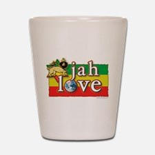 Jah Love Shot Glass
