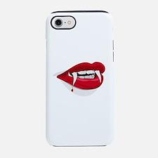 Halloween Vampire Teeth iPhone 7 Tough Case