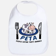 People Eating Tasty Animals Bib
