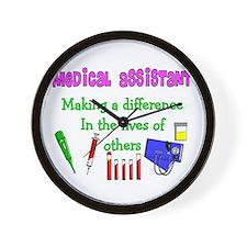 Medical Assistant Wall Clock