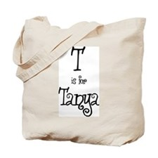 T Is For Tanya Tote Bag