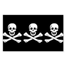 Christopher Condent's Pirate Flag Bumper Stickers