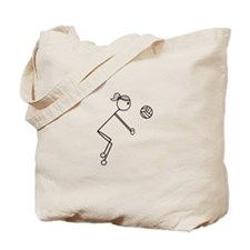 Cute Volley ball Tote Bag
