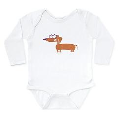 Loony Doxie Long Sleeve Infant Bodysuit