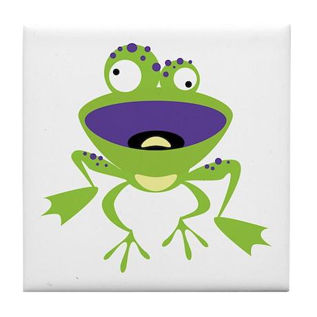 Loony Frog Tile Coaster