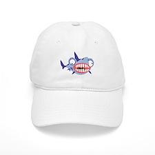 Loony Shark Baseball Cap