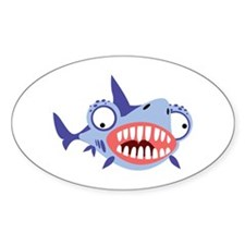 Loony Shark Decal