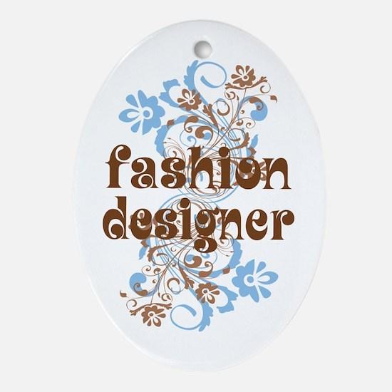 Fashion Designer Ornament (Oval)