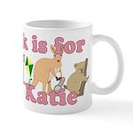K is for Katie Mug