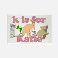 K is for Katie Rectangle Magnet